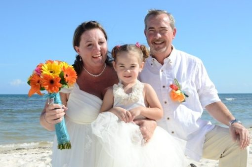 Tina and Lee's Real Destination Wedding