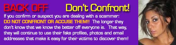 Janet hudson. dating scam