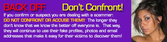 list of scammers on dating sites