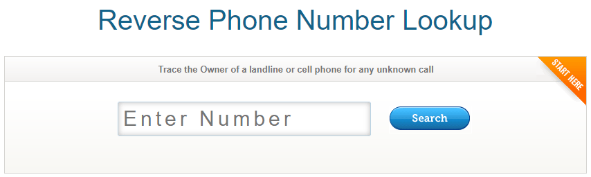 New Reverse Phone Number Look Up