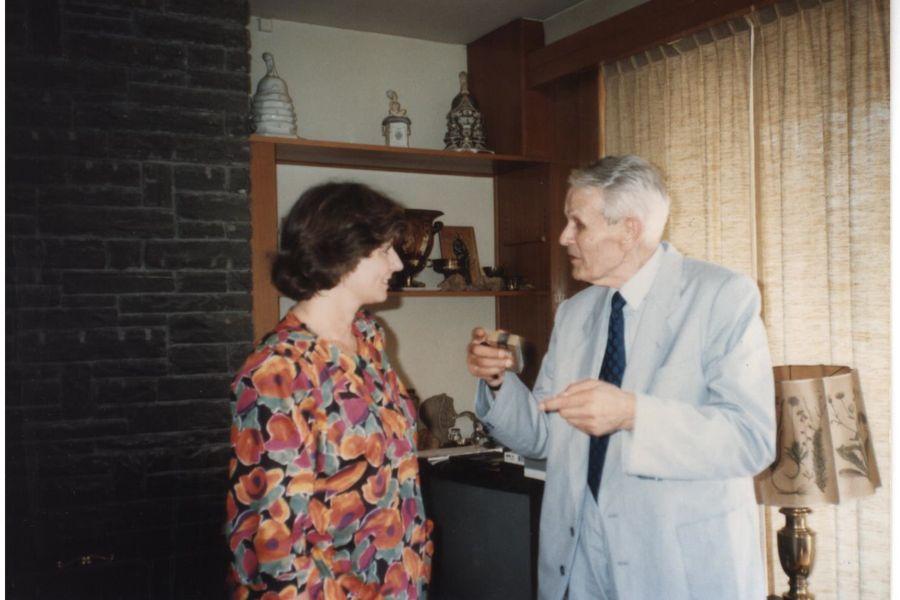 Corneliu Coposu la Versoix mai 1990 (3), ©Casa Majestatii Sale Regelui