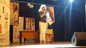Dna. Stela Enache - membru juriu Hermannstadtfest 2017.600 (foto Bogdan Dragomir)