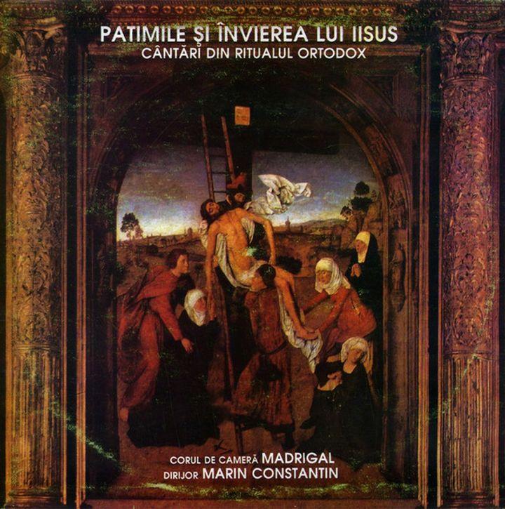 Foto Booklet CD Patimile si invierea lui Iisus - Madrigal.Electrecord (foto si prel.1100 B.Dragomir)