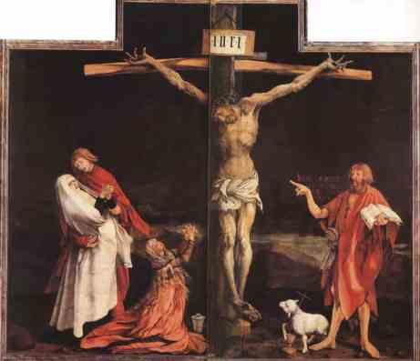 Matthias Grünewald, 'Crucifixion' (1515)
