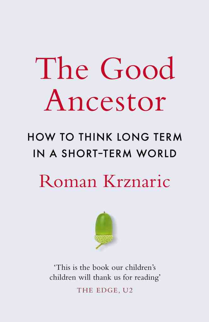 The Good Ancestor book cover.