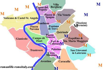 Image result for Rome neighborhoods