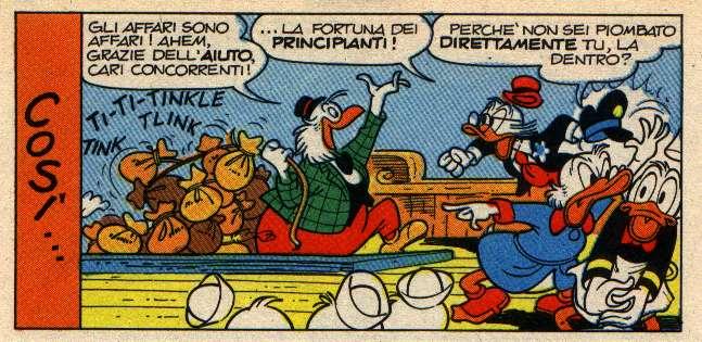 Zio Paperone e il veggente dei guadagni
