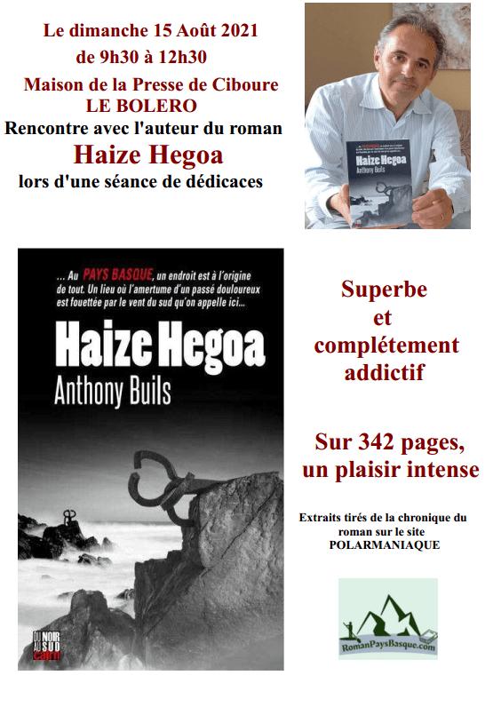Read more about the article Rencontre et séance de dédicaces à Ciboure