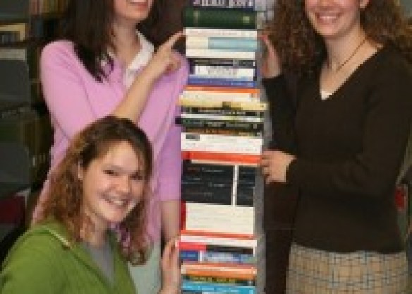 New Saint Andrews Freshman with the Freshman reading list