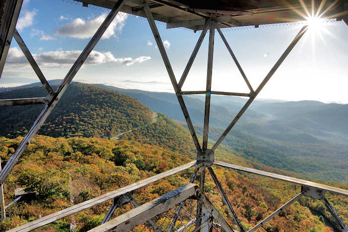 After a few climbs and descents you will come to the mt pisgah trailhead. Mt Pisgah Hike Restaurant