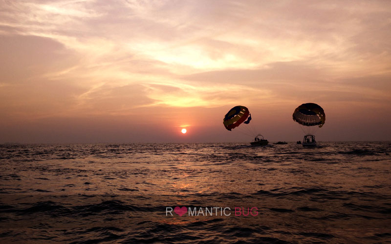 Parasailing Watersport in Goa