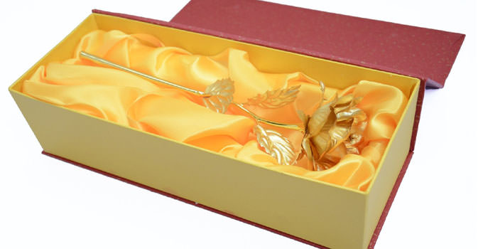 24K Gold Roses