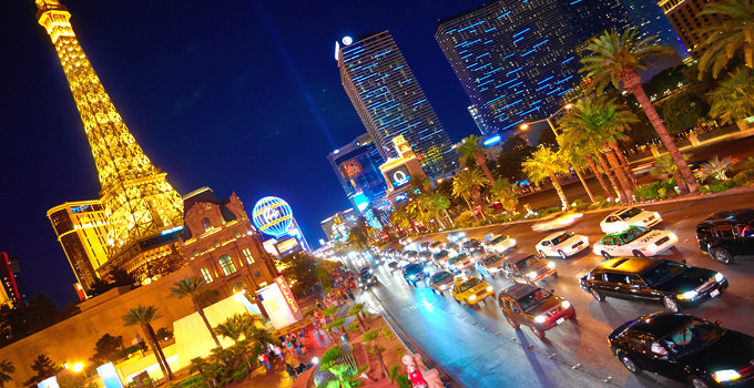 Las Vegas Strip in the night