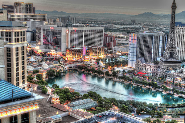 View From Vdara Hotel and Spa
