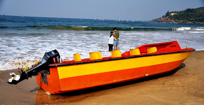 Betalbatim Beach in Goa