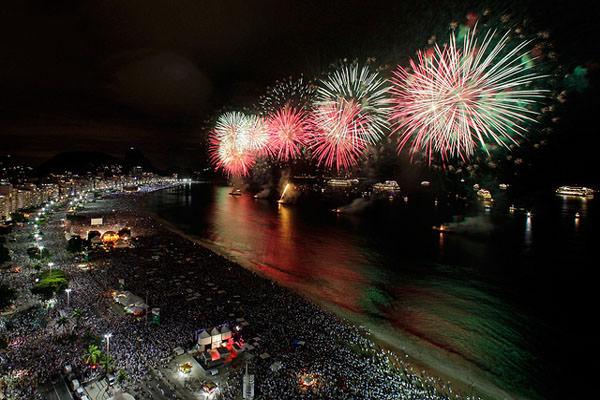 Rio de Janeiro Fireworks