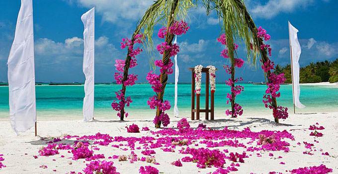 Sheraton Maldives Full Moon Resort Wedding