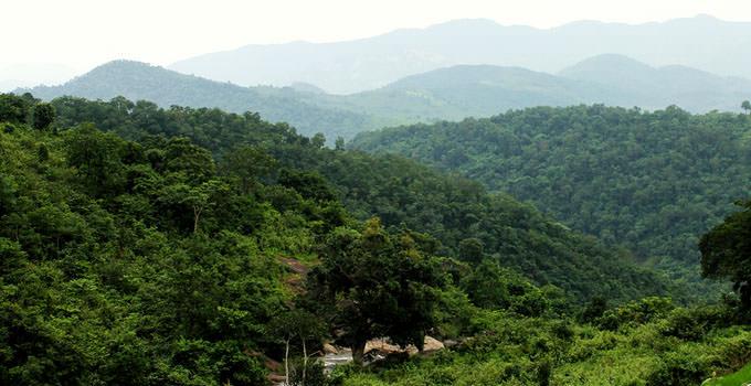 Hills in Anantagiri