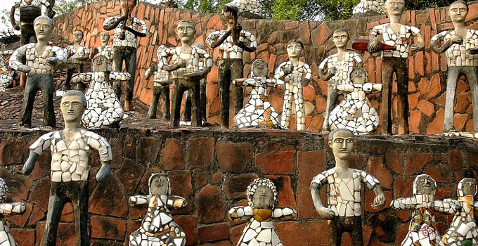 Rock Garden in Chandigarh