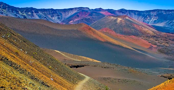"Haleakala ""crater"" view"