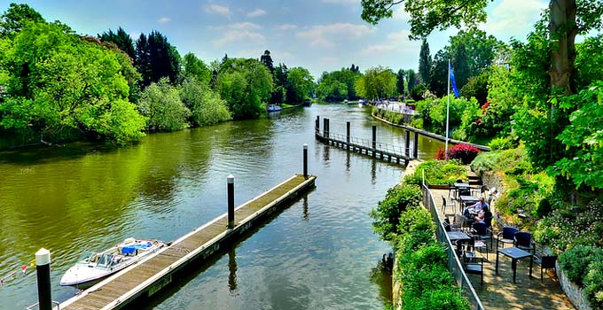 River Thames in Maidenhead