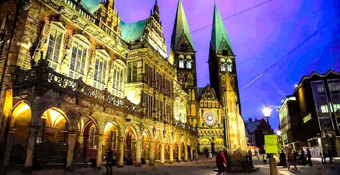 Deutschland (Allemagne) - Bremen Altstadt