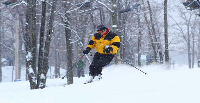 Skiing in Poconos