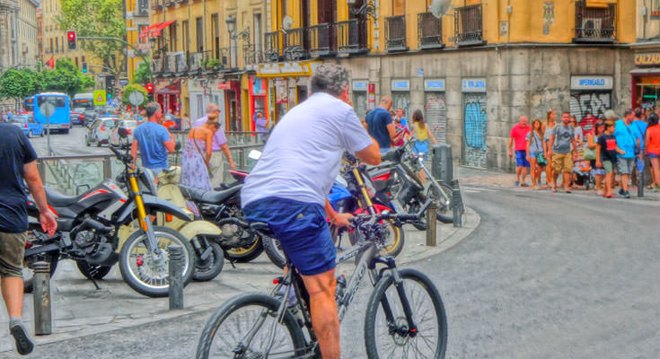 Madrid by bike