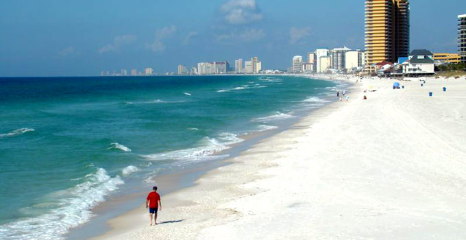St. Andrews State Park at Panama City