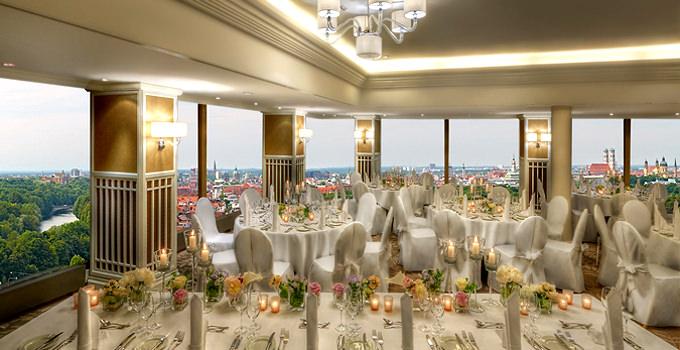 Salon Marco Polo at Hilton Hotel in Munich