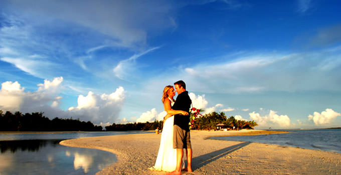 Aitutaki Lagoon Resort Wedding