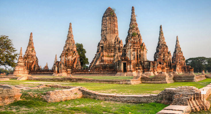 Temple-in-Ayutthaya