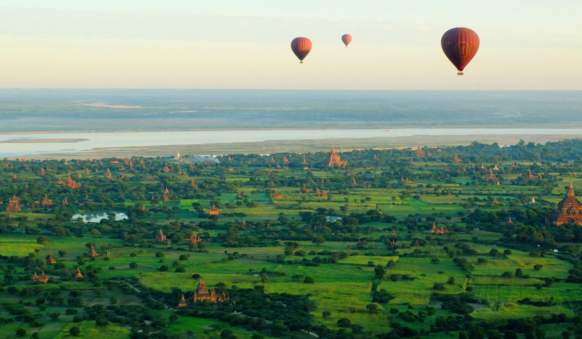 Hot Air Balloon Ride in Bagan