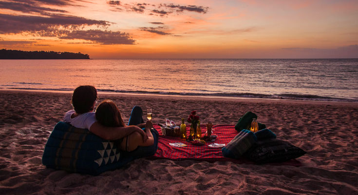 Romantic Phuket Picnic