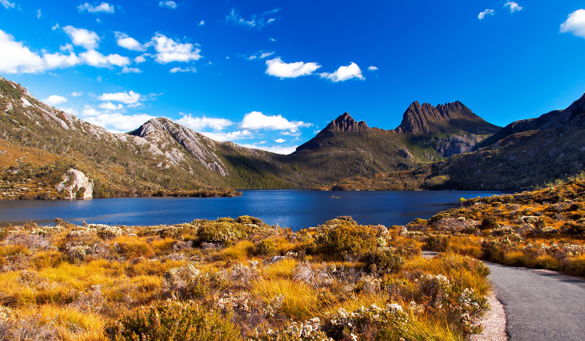 Tasmania-Mountains