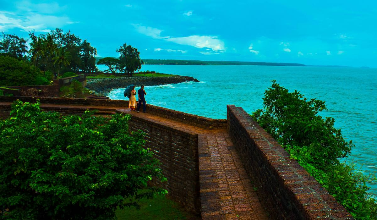 St. Angelo Fort  in Kerala