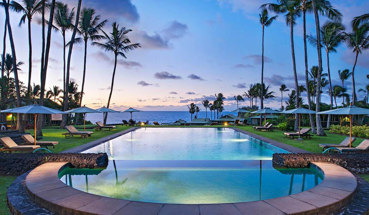Travaasa Hana Resort in Maui