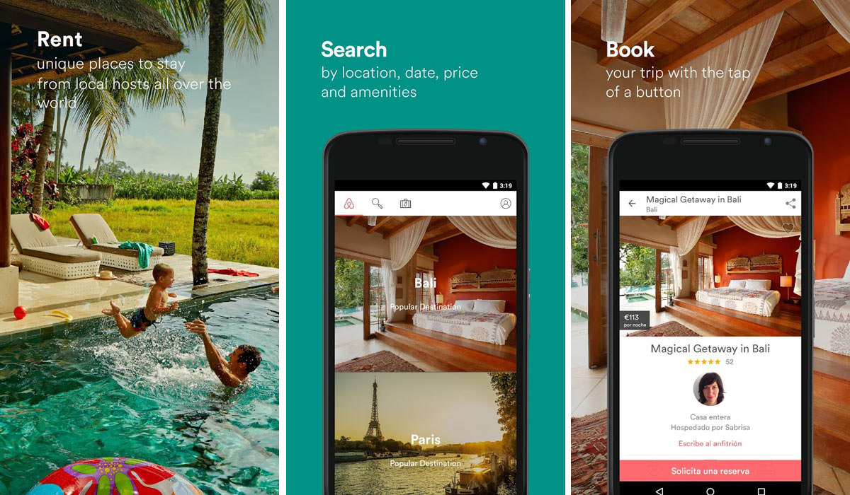 Airbnb Travel App For Rentals