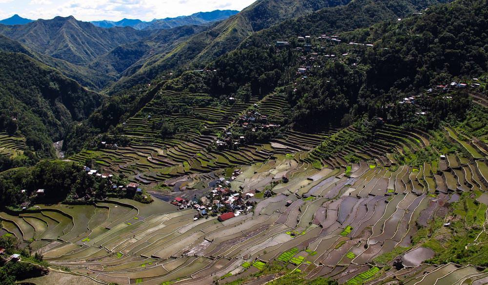 Banaue Rice Terraces in Philippines