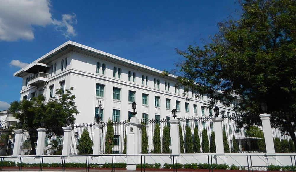 Malacanang Palace in manila