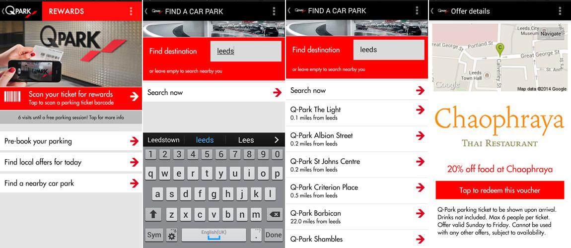 Q-Park App For London