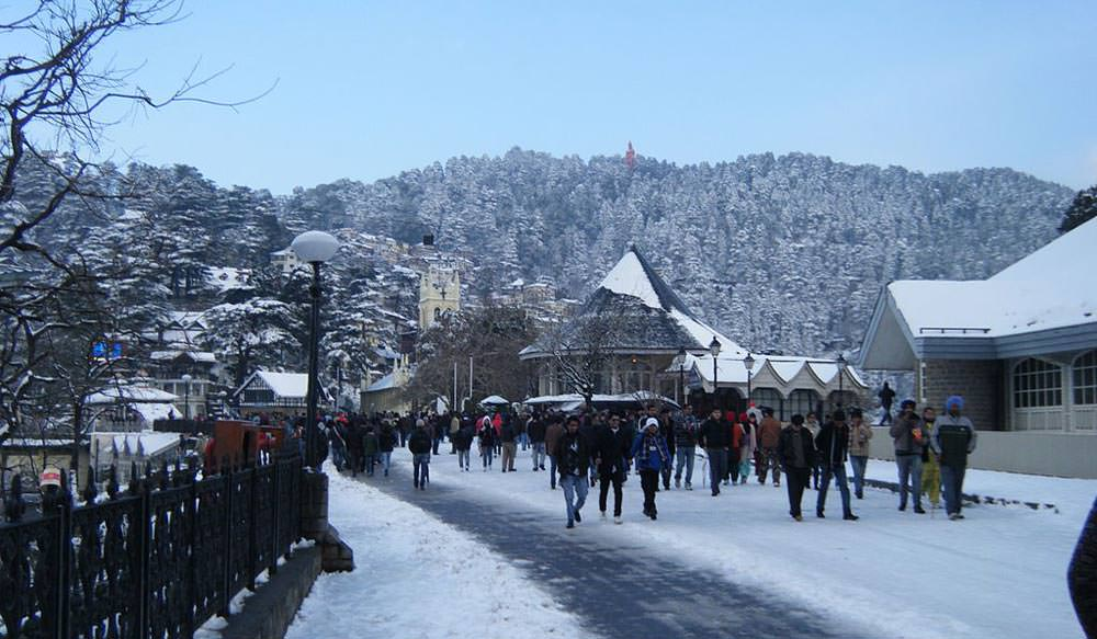 The Ridge in Shimla