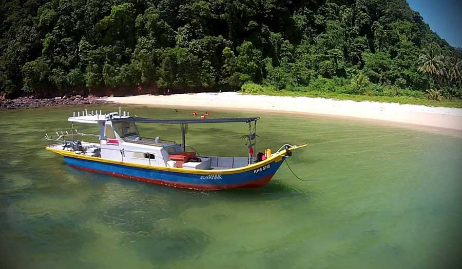 Pulau Songsong in Malaysia