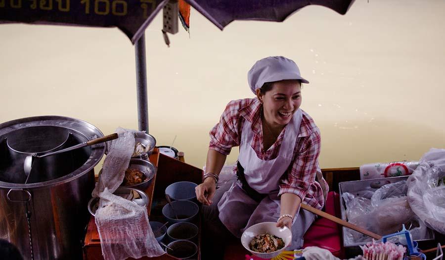 Bang Khla Floating Market Bangkok