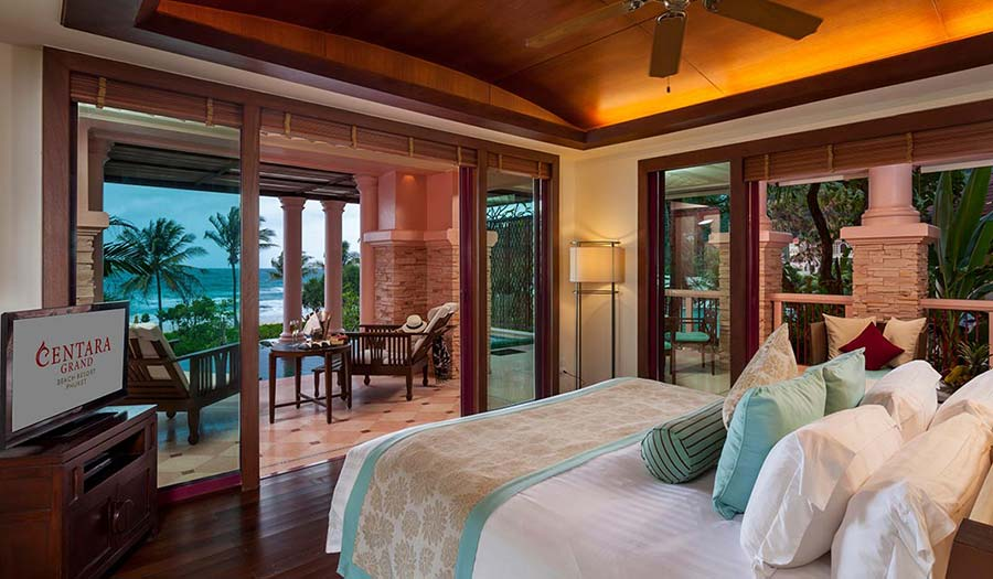 Centara Grand Phuket Beach Resort Bedroom