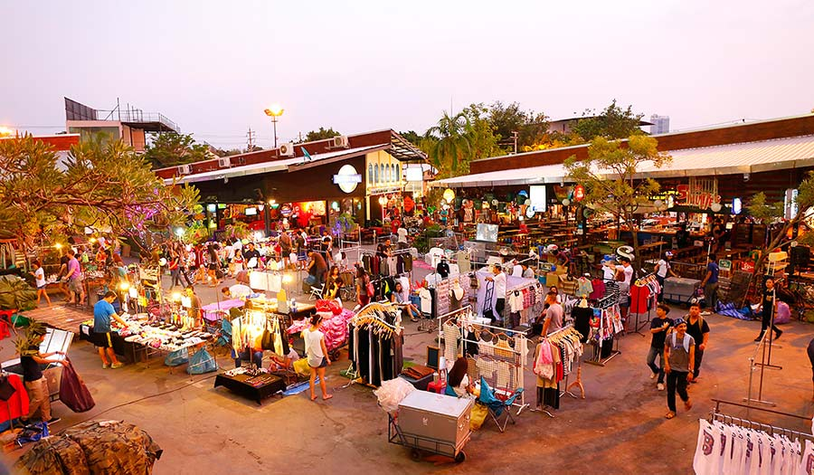 JJ Green Market in Bangkok