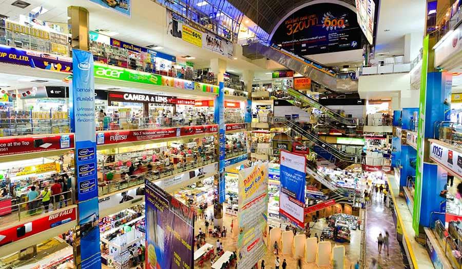 Pantip Plaza IT Electronics Shopping Mall In Bangkok