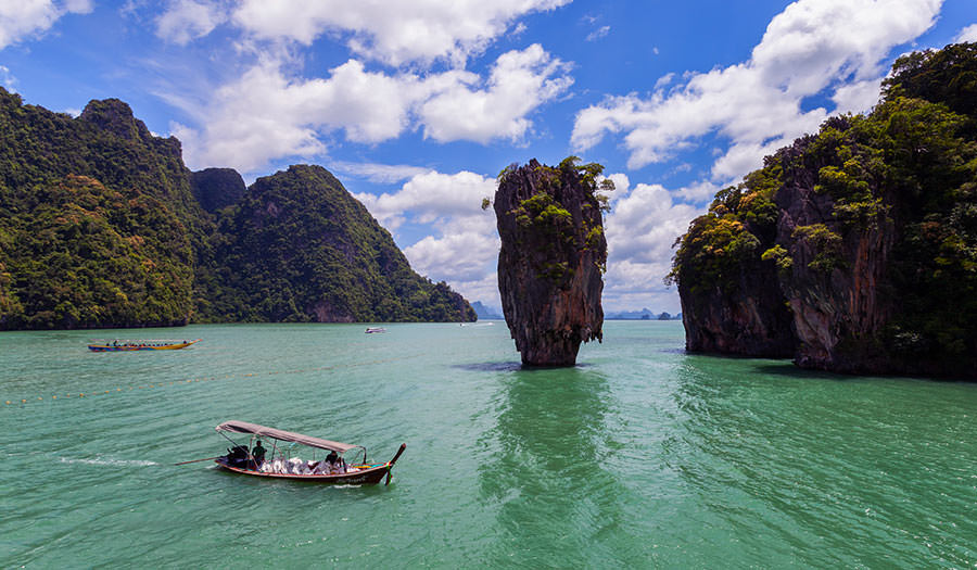 Phang Nga Bay in Phuket