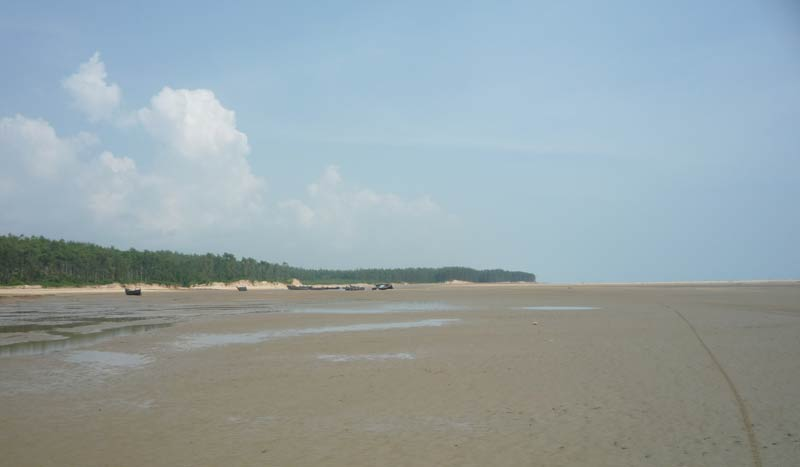 Talasari Beach in Odisha