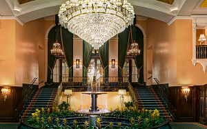 Amway Grand Plaza Hotel one of the best and most romantic hotels in Michigan